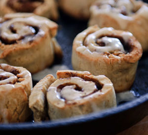 Healthful Cinnamon Roll in Just Minutes