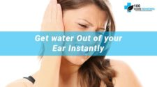 Home Remedies for Water in Ear